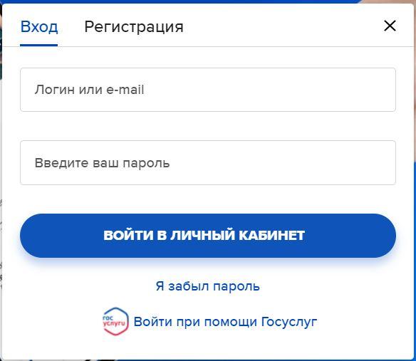 Вход в личный кабинет на официальном сайте страховой компании